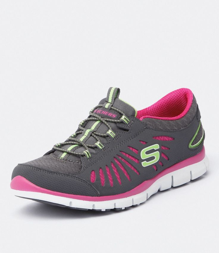 22169 Gratis In Motion Grey by Skechers Shoes Online | FREE Delivery from Styletread