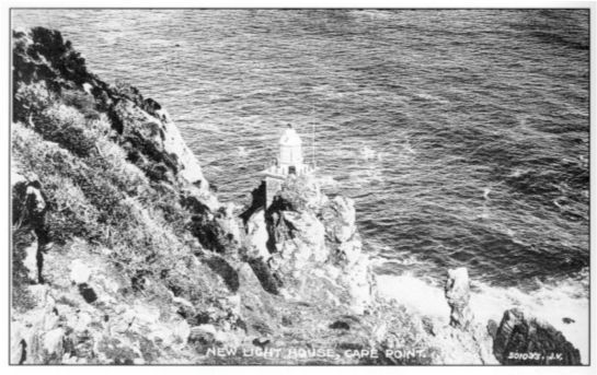 #TBT The New Lighthouse. The engineer behind the task of relocating the Cape Point lighthouse was Mr. Harry C. Cooper. He selected a site very close to the end of the Peninsula above Dias Rock and eighty-seven metres above sea level. This was one hundred and sixty metres lower than the original lighthouse and would eliminate the problems of visibility. #CapePoint #History
