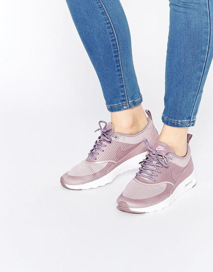 Imagen 1 de Zapatillas de deporte color ciruela Fog Air Max Thea de Nike