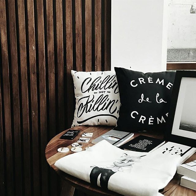 Collaboration with Printerous, showcased at 1/15 Coffee, Jakarta.  #home #interior #paperprovision #stationery