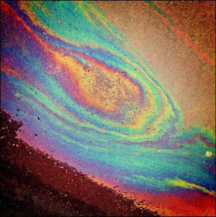 Oil Stain - Mancha De Aceite (1022×1024)   Img   Pinterest