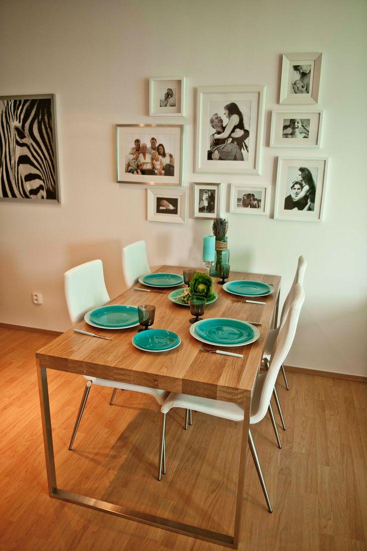 Jídelní kout Designový jídelní stůl pro větší rodinu je od firmy Triant Bllok a vyšel na 23 000 Kč - ProŽeny.cz