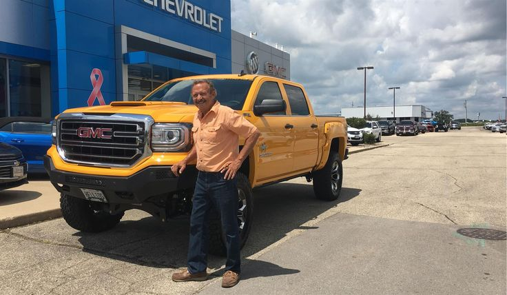 Michael, we hope you enjoy your new 2017 GMC SIERRA.  Congratulations and best wishes from Kunes Country Chevrolet Buick GMC and ELI LAZAR.
