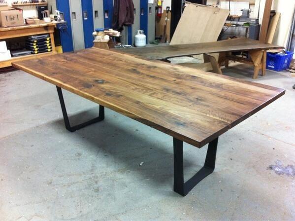 17 Best Images About Custom Built Tables On Pinterest