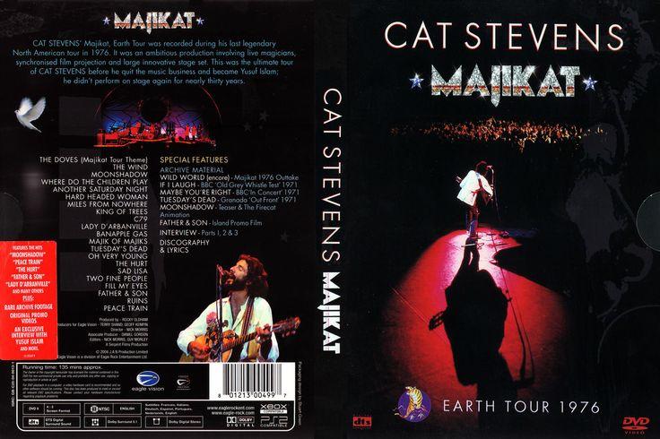 Full DVD The Cat Stevens Majikat Earth Tour 1976