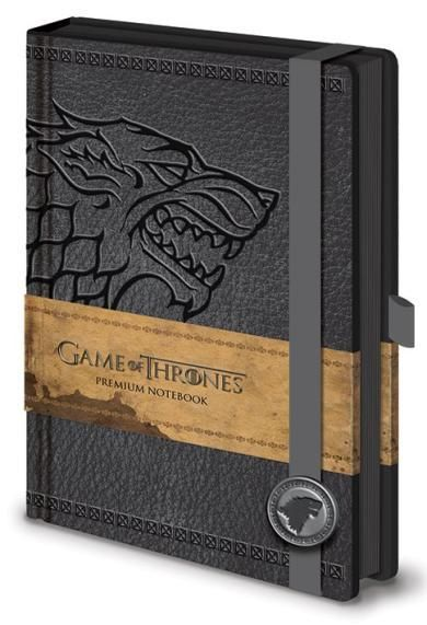 Game of Thrones (Stark) - Premium A5 Notebook