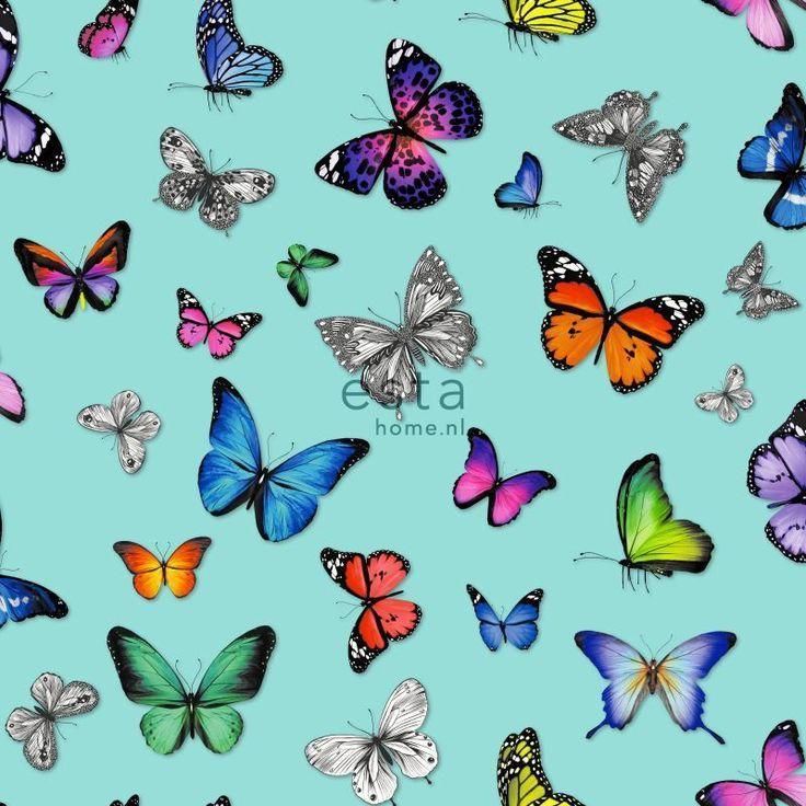 Esta Home Brooklyn Bridge vlinder behang 138537