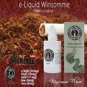 Now you can buy e liquid online in A bold rich tobacco taste. Formulated to simulate the rich flavor of a popular name-brand, Winsome Tobacco Blend e cigarette liquid will satisfy lovers of tobacco. #50ml #eliquid #ecigarette #winsome