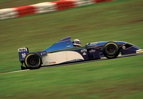 Bertrand Gachot  Pacific - Ford  Interlagos 1995