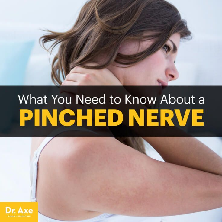 Pinched nerve - Dr. Axe #health #holistic #natural