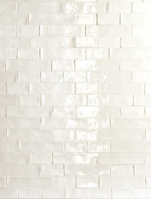 De Fazio Subway Handmade White tile love the way h…