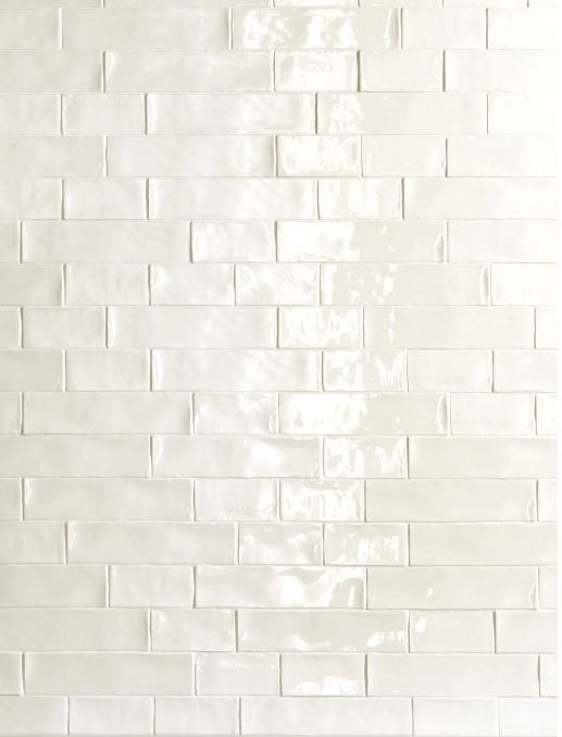 subway tile white handmade - Google Search