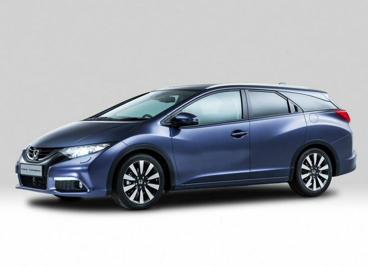 2014 Honda Civic Tourer Front Side View