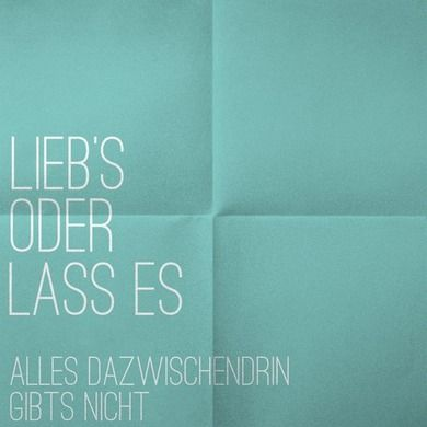 lieb's oder lass es - GENETIKK feat. SIDO