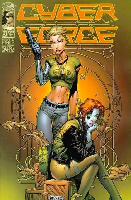 David Finch Cyber Force. I used to love this.