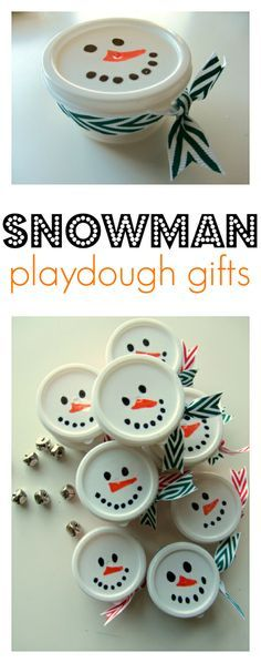 ClassChristmas gift idea - perfect for preschool teachers to give to students or students to give to classmates for Christmas.