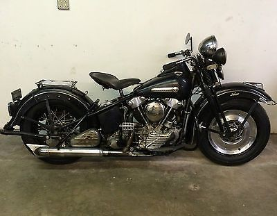 Harley-davidson : Other 1947 Harley Davidson Fl Knucklehead Bull Neck Springer Panhead Flathead Ul Ulh | Cheap Motorcycles For Sale