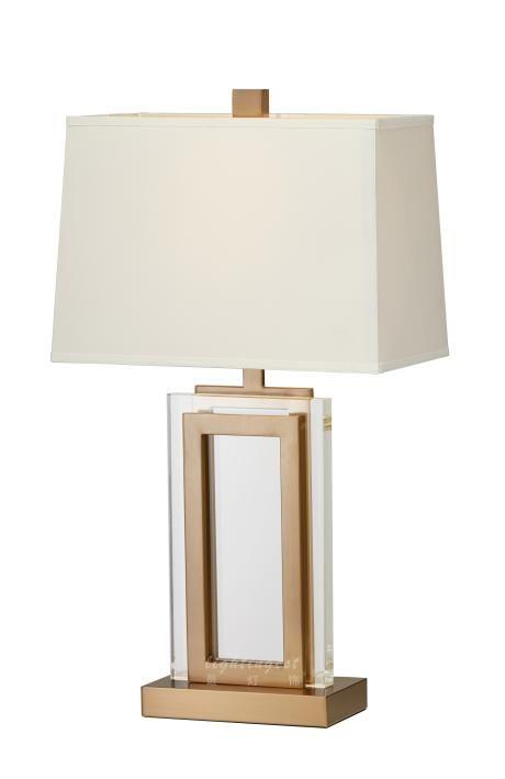 Modern American example room desk lamp【最灯饰】4月新品 现代美式夹心玻璃片时尚家居样板房台灯