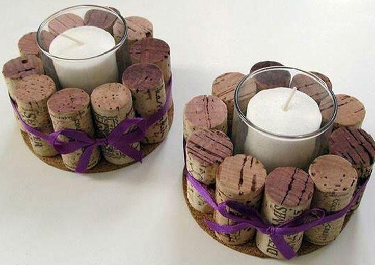 Ideas para crearte un #Spa en casa con los corchos de las botellas de #vino. ¡Una idea muy original! :-) http://www.lavida.es/spa