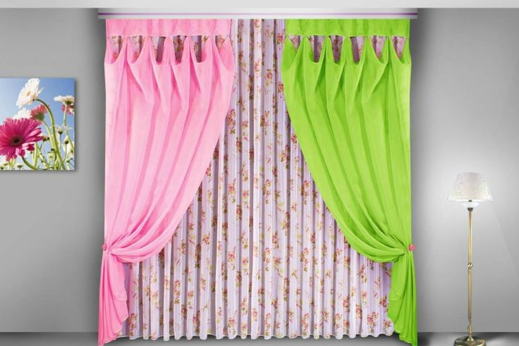 4. Комплекты для спальни и гостиной без ламбрекенов — Услуги —Белорусские шторы