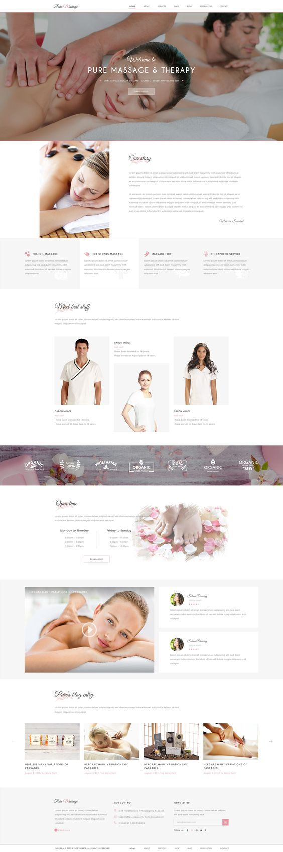 Buy Pure Spa and Beauty PSD