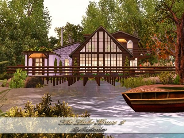 The Lake House II by Pralinesims   Sims 3 Downloads CC Caboodle. 229 best The Sims 3 house design images on Pinterest   The sims