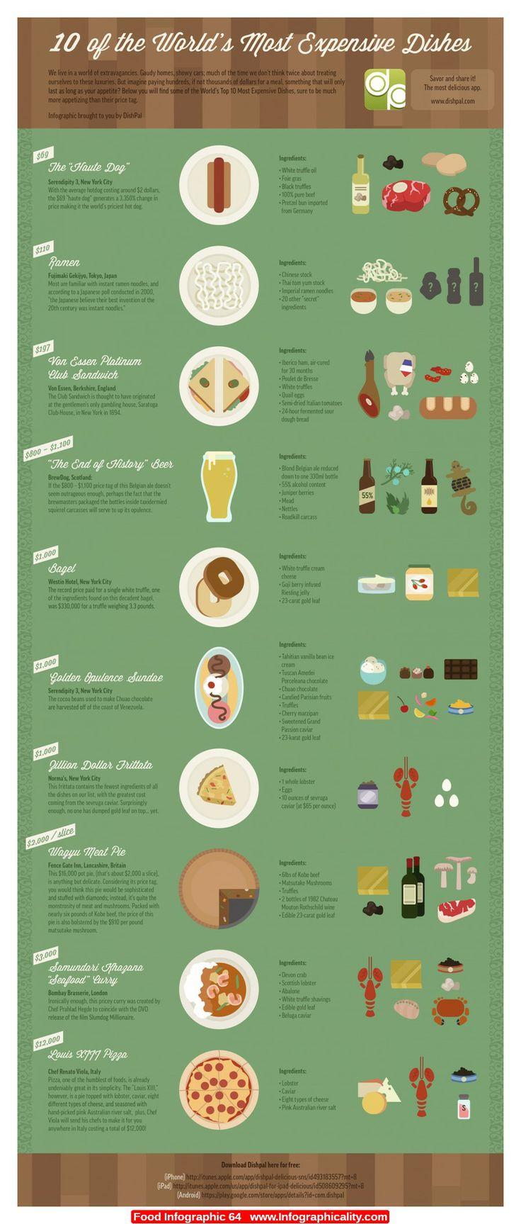 Food Infographics | Infographicality