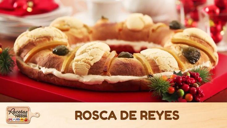 Cómo preparar Rosca de reyes - Recetas Nestlé®
