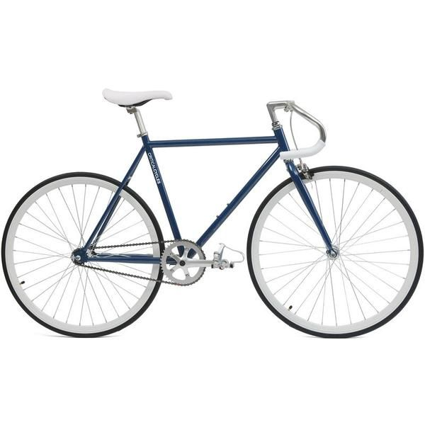 Slate Gray Pista Fixie Fixed-Gear Bike (Single-Speed Fixie Urban Commuter  Bicycle)