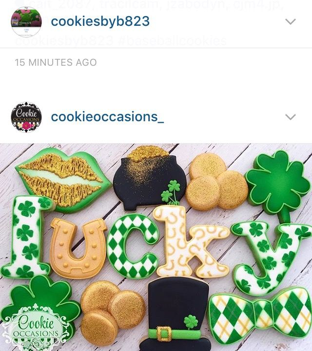 St Patrick's day luck gold green shamrocks pot of gold