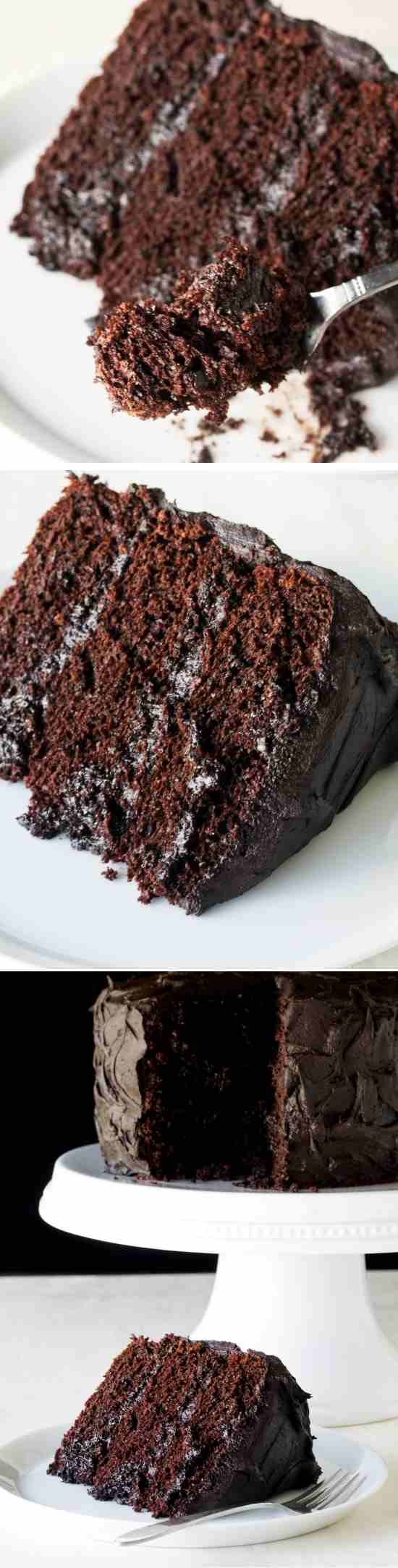 The Most Amazing Chocolate Cake is here. I call this my Matilda Cake because I swear it's just as good …