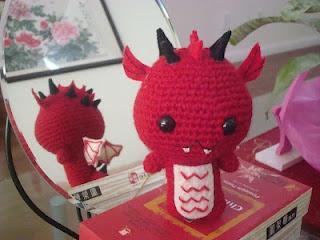 Dragon Rojo Amigurumi : 17 mejores imagenes sobre Handmade by Panda8ngel (me) en ...