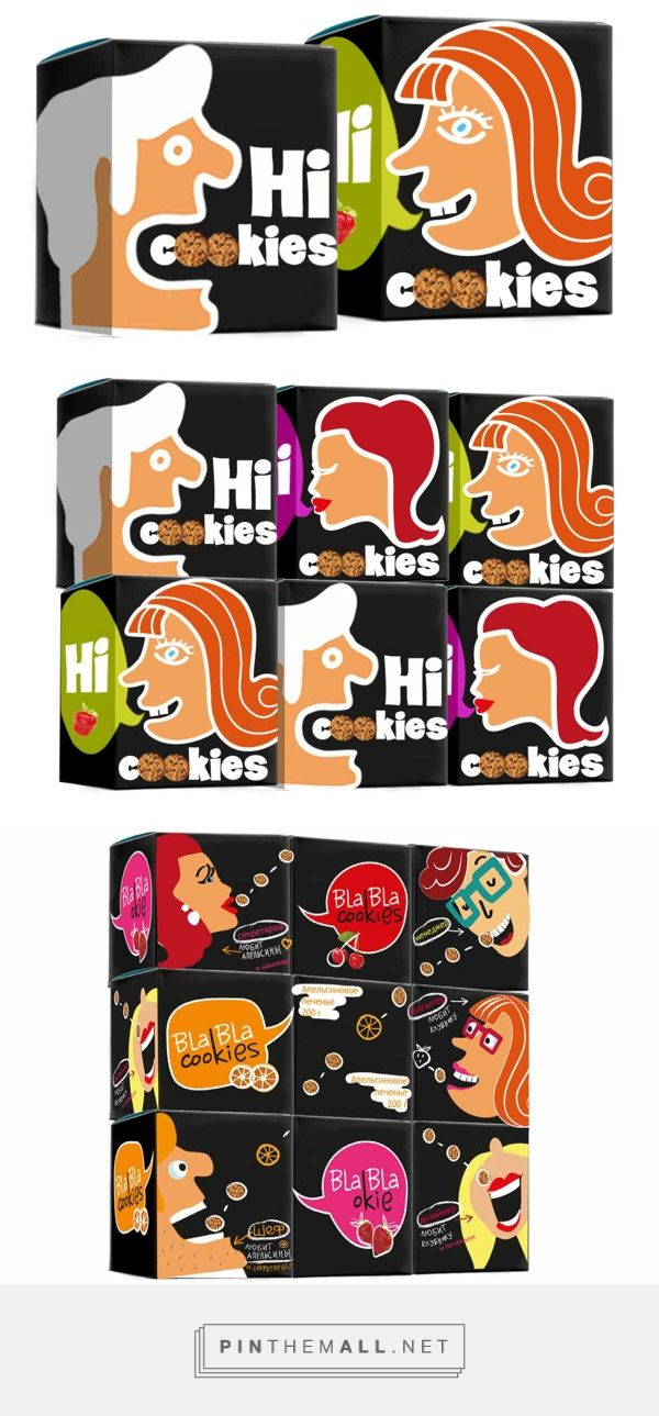 Concept Packaging cookies on Behance by Zaira Panaeva curated by Packaging Diva PD. Cute packaging concept : )