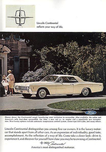353 best lincoln car brochures images on pinterest lincoln continental vintage cars and. Black Bedroom Furniture Sets. Home Design Ideas