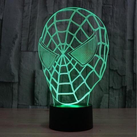 Spiderman LED 3D illusion nightlight
