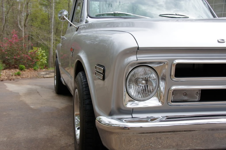 67 72 Chevy Truck Parts >> 68 Chevrolet C10 Front   60-66 Chevy Truck Parts   67-72 Chevy Truck Parts   Pinterest   Chevy ...