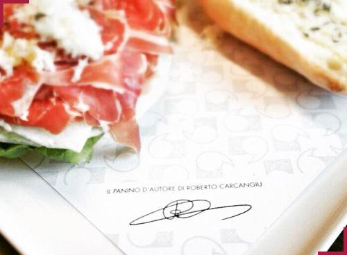 Panini d'autore firmati dallo chef Roberto Carcangiu