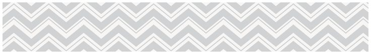 Sweet Jojo Designs Gray and Pink Zig Zag Collection Wall Paper Border