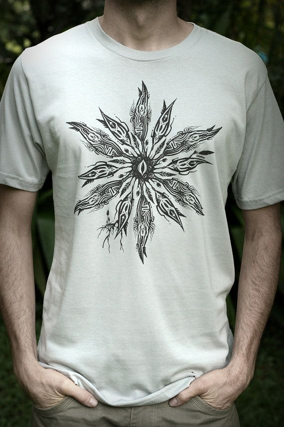 Males Fair Wear and Organic T-Shirt  Wattle Portal V6 by IzWoz