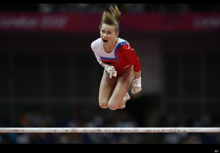 """Best """"kicked in the groin"""" face  Anastasia Grishina of Russia"""