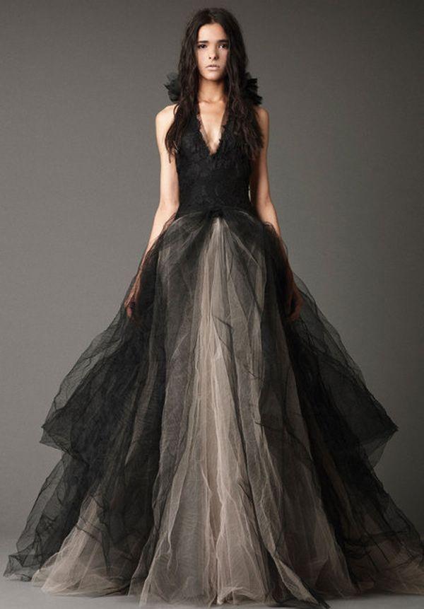 Vestidos de Boda Negros - Para Más Información Ingresa en: http://vestidosdenochecortos.com/vestidos-de-boda-negros/