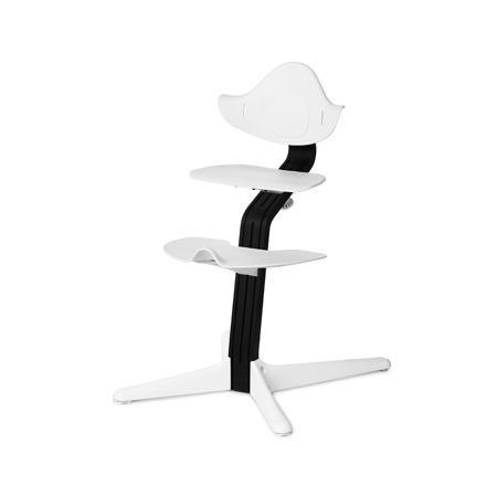 Evomove Стульчик Nomi, основание Стандарт, Чёрный, обвес в ассорт.  — 16900р.  Регулируемый стульчик-трансформер Evomove Nomiпредназначен для детей в возрасте от 2 до 12 лет.  Детский стульчик Nomiможно использовать до подросткового возраста: высота сиденья и подножки легко регулируется, а сам стульчик выдерживает вес до 90 кг, при этом вес его самого не более 5 кг!  Преимущества детского стульчика-трансформера Nomi:  • Универсальность.Стульчик Nomi не требует наличия детского стола…