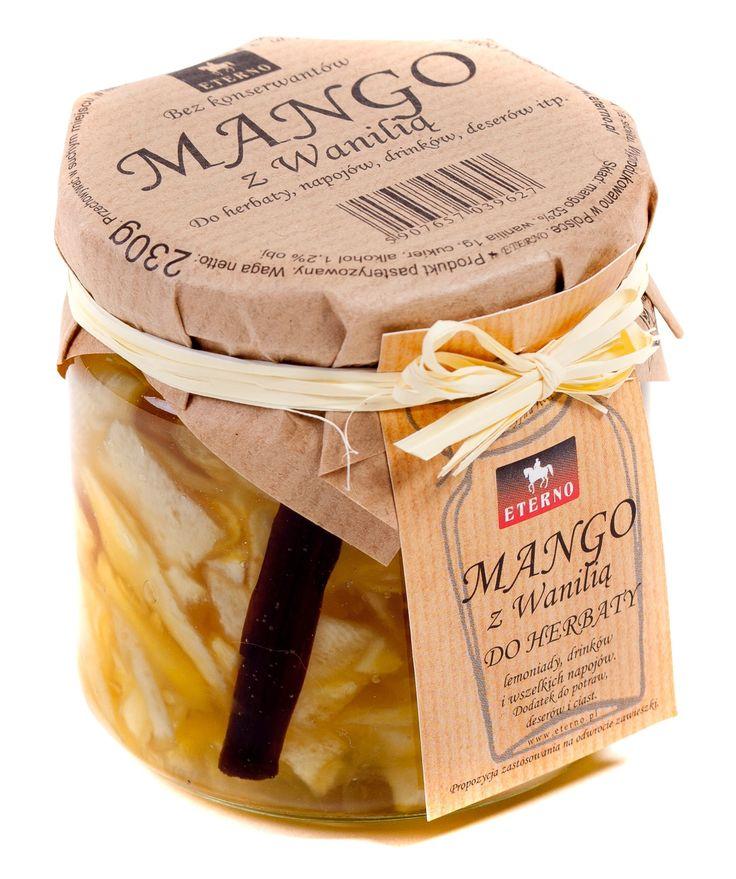 Mango z wanilią