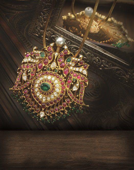 gemstone_pendant_from_navrathan_jewellers