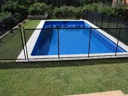Cl ture de piscine amovible enfant s cure esth tique et for Cloture amovible piscine
