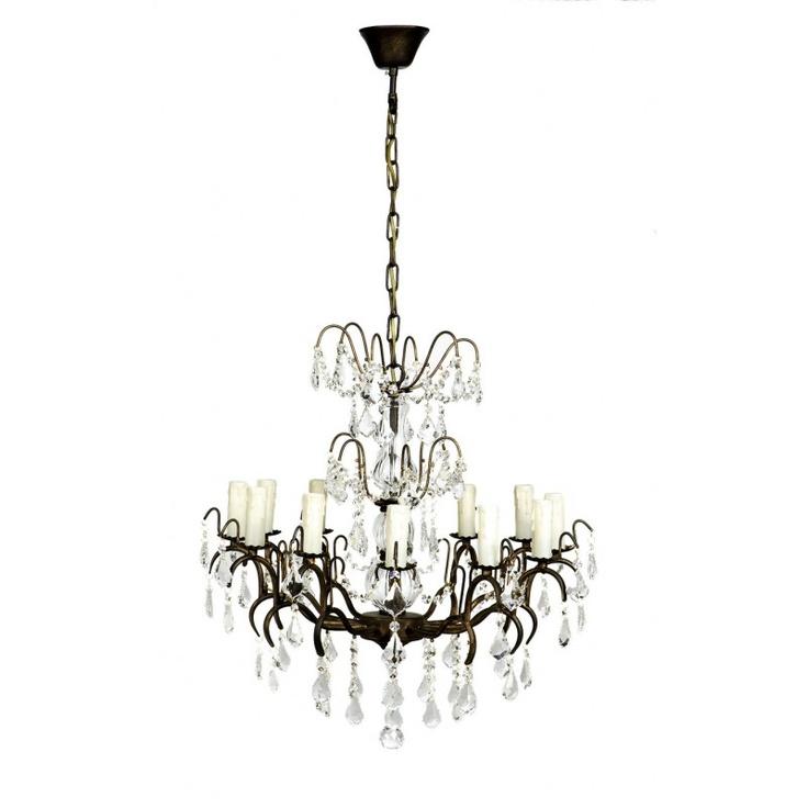 comptoir de famille lustre pampilles 12 inspiration. Black Bedroom Furniture Sets. Home Design Ideas