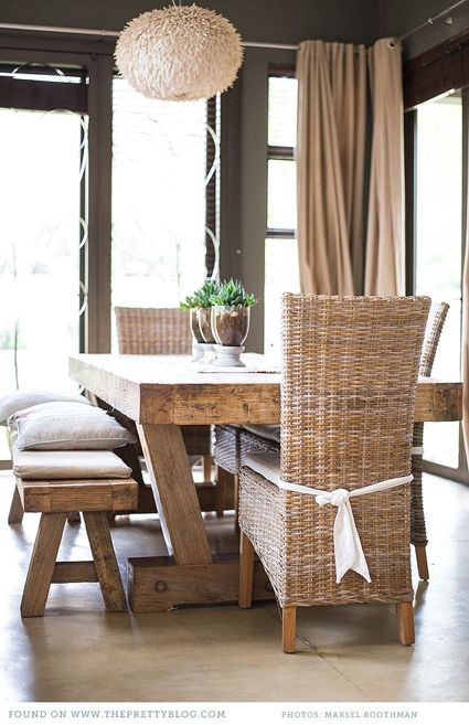 best 10+ rustic dining room tables ideas on pinterest | white