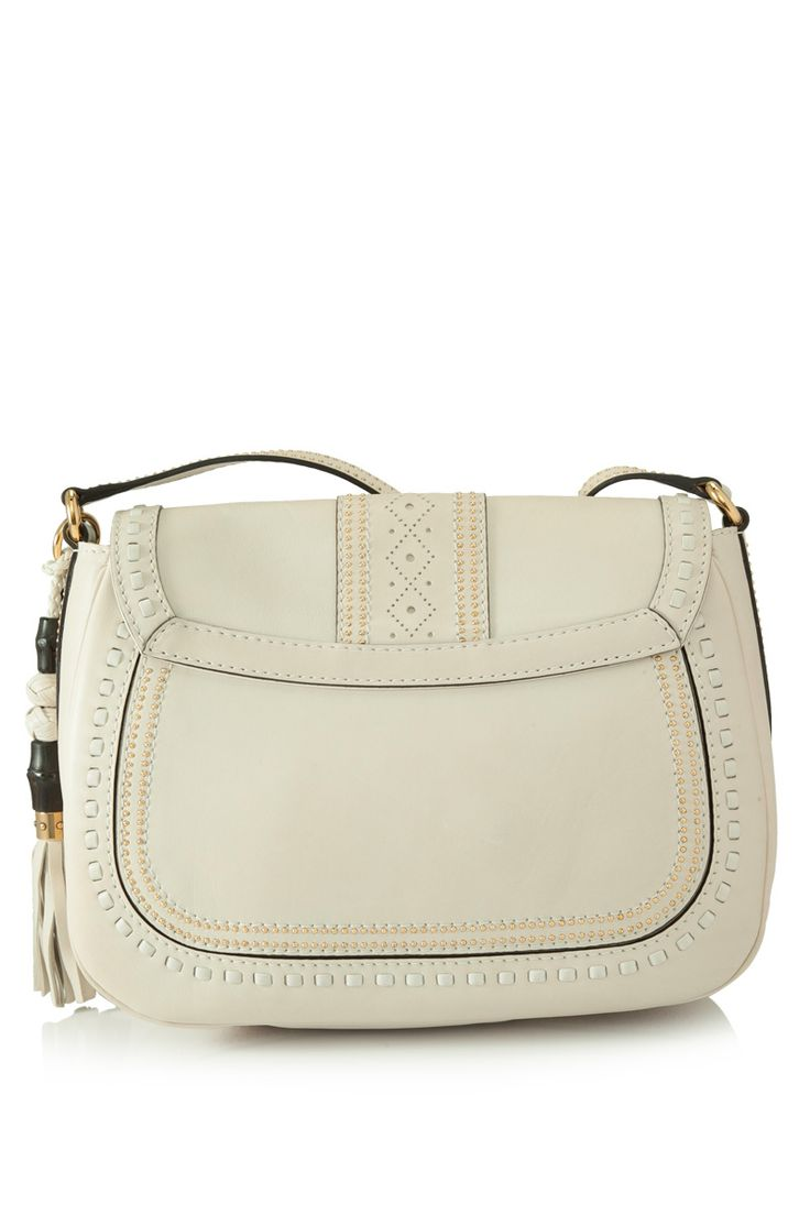 PreOwned Gucci Snaffle Bit Shoulder Bag Cream GUCCI