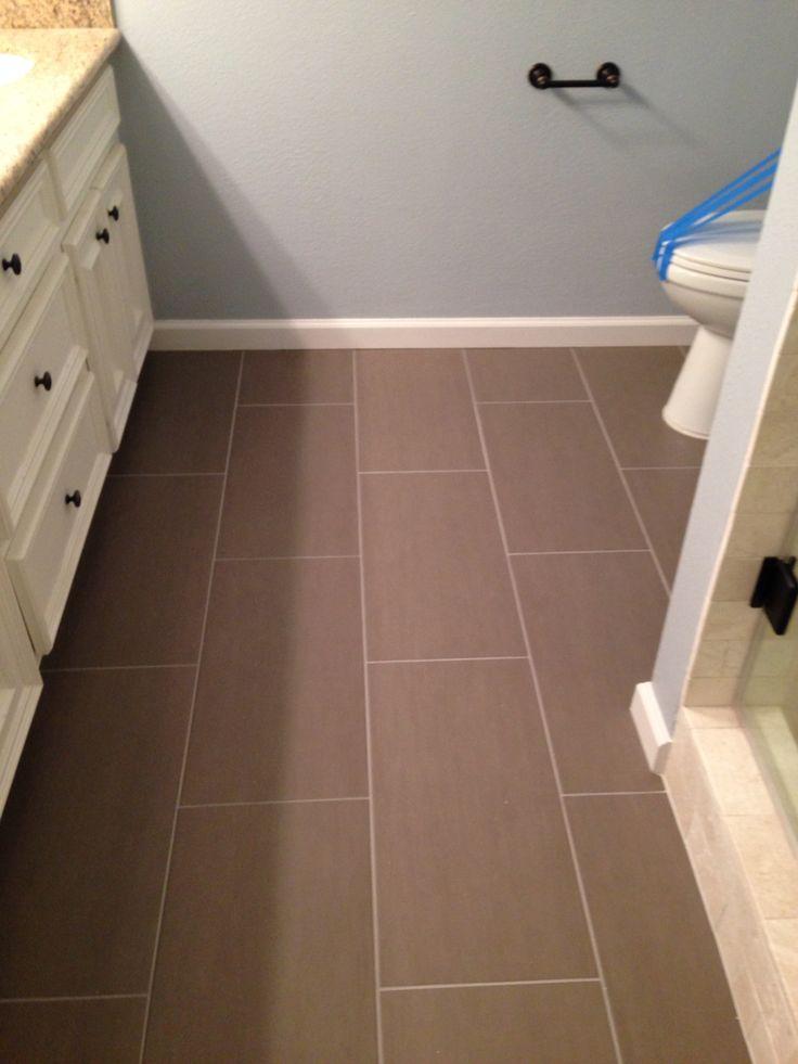 my new bathroom floor