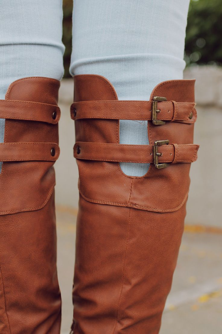 Tall Cut Out Buckle Detail Riding Boot Relax-01X – UOIOnline.com: Women's Clothing Boutique